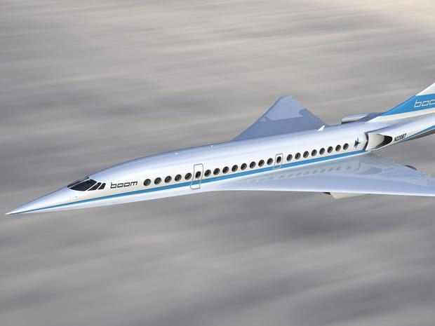 L'avion supersonique Boom, le nouveau Concorde?