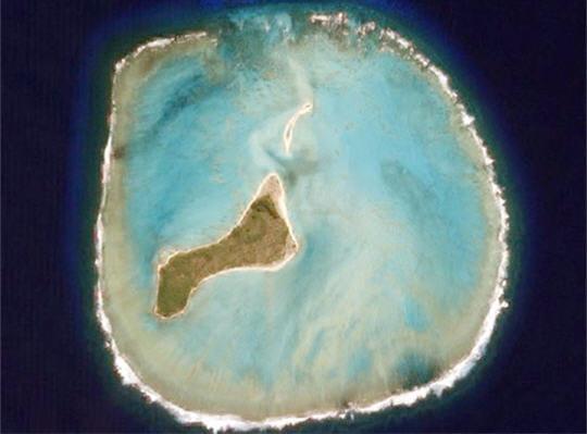 Atoll et lagon