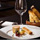 Entrée : Sixty-two  - LE FOIE GRAS. De canard confit au naturel, condiment betterave, orange & xérès, brioche toastée... -   © Franck Sonnet
