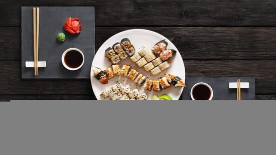 Plat : Fun Sushi  - Belle assiette -   © Fun sushi