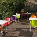 Restaurant : Auberge de saint angel  - Terrasse -