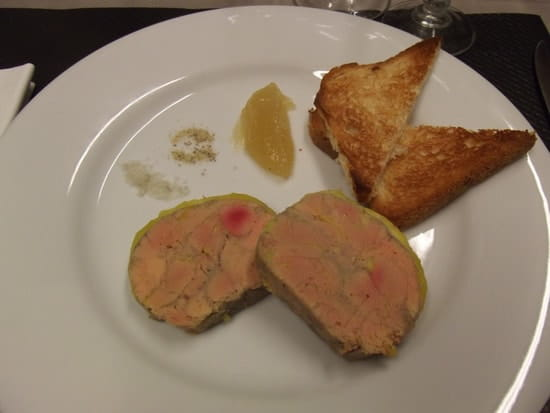 La Chimère  - foie gras maison -   © jc