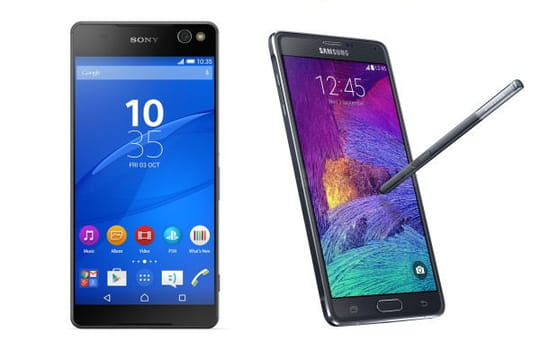 10 smartphones à (très) grand écran