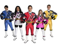 Power Rangers Super Ninja Steel : A toute vitesse