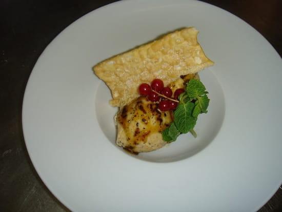 Restaurant des Gourmets  - Glace truffe, caramel truffé et craquant Vendéen -   © Denis