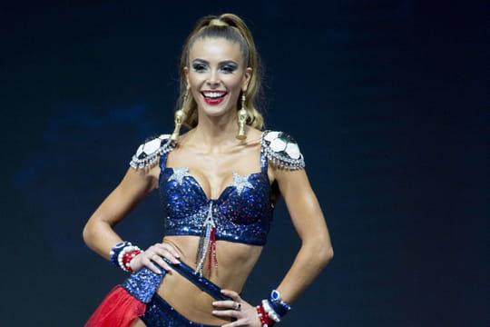 Miss Univers: Eva Colas en costume national très sexy!