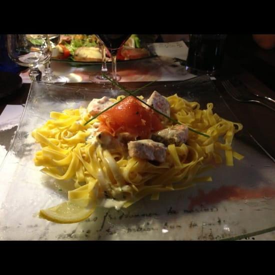 Restaurant : L'Elysé  - Tagliatelles aux deux saumons -