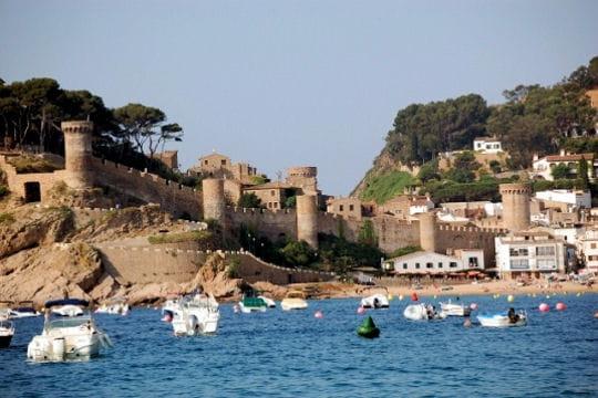 Tossa de Mar, entre plages et fortifications