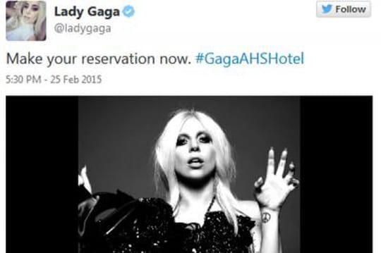 Lady Gaga: star de la saison 5d'American Horror Story!