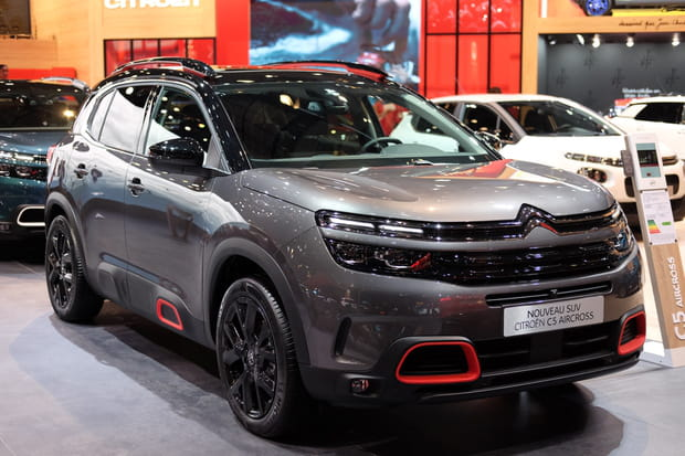 On peut commander le C5 Aircross au Mondial de l'Auto