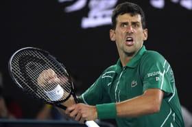 Open d'Australie: Djokovic mate Federer et file en finale, les résultats