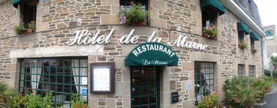 Restaurant : Hôtel Restaurant de la Marne