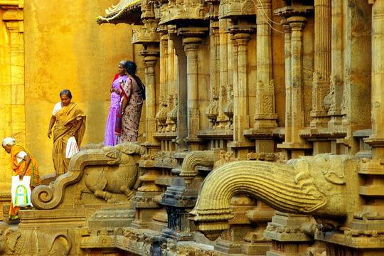 Dans les temples lumineux de l'Inde du Sud