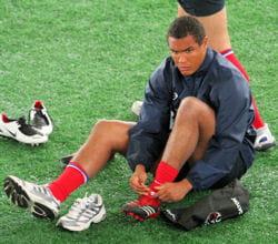 thierry dusautoir, capitaine de l'équipe de france de rugby.