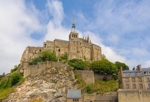 Le Mont-Saint-Michel, son abbaye et sa baie