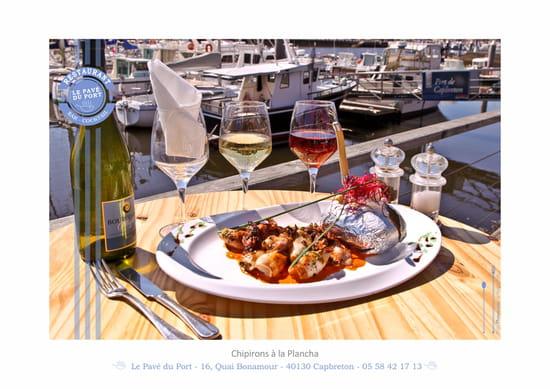 Restaurant : Le Pavé du Port   © Le Pavé du Port