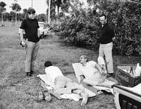 A droite sur la photo : John F. Kennedy/Max Jacobson