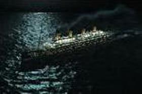 Le Titanic troque son iceberg contre un glaçon !