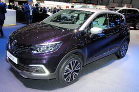 Le Renault Captur restylé en images