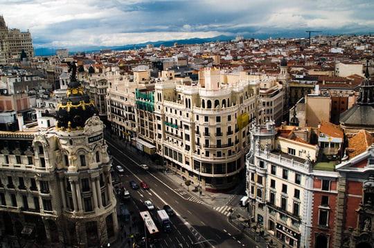 La Gran Vía de Madrid, beauté architecturale