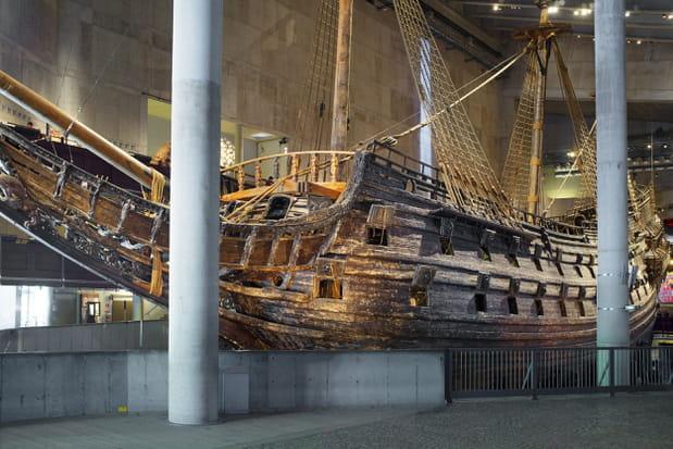 Le musée Vasa à Stockholm