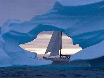 le bateau southern star va s'aventurer parmi les glaces de l'arctique.