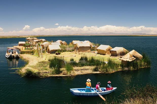 Pour naviguer sur le lac Titicaca