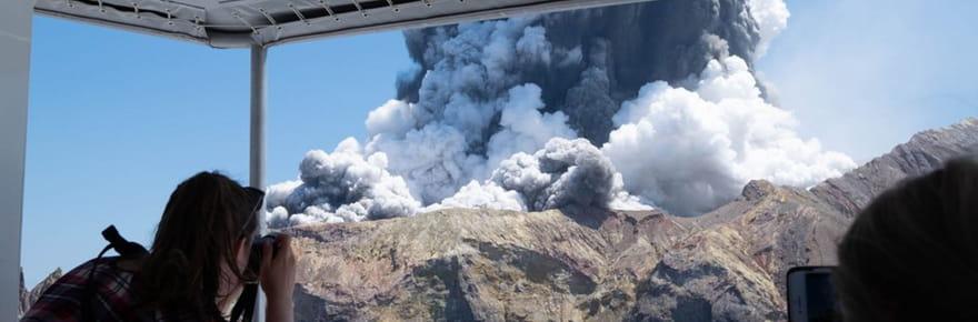 White island: ce qu'on sait de l'éruption du volcan en Nouvelle-Zélande, vidéo et infos