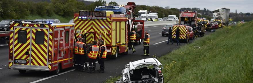 Sécurité routière: 55,8% de morts en moins en avril, avec le confinement