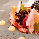 Entrée : Le H - Restaurant  - Homard Ivre -   © LE H