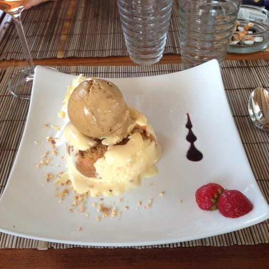Dessert : L'Onda  - Tiramisu glaçé -