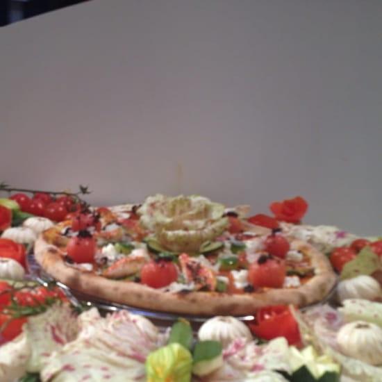 Plat : Innamorato  - Pizza aux filets de rouget barbet du championnat du monde 2013.  -