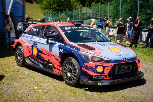 La voiture de Sébastien Loeb pour la saison WRC 2019