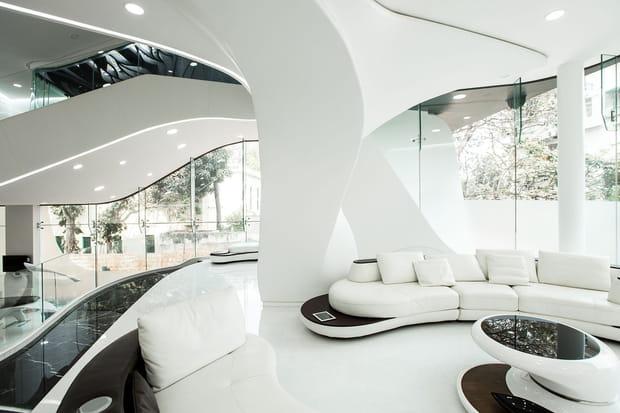 la maison futuriste et design int rieur. Black Bedroom Furniture Sets. Home Design Ideas