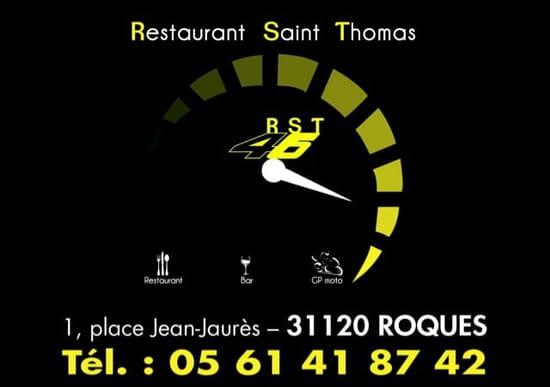 Restaurant : Bistrot St. Thomas