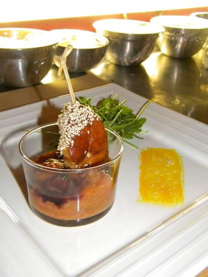 Antipodes  - Escalope de foie gras sur compote de rhubarbe  -   © Denys Colin