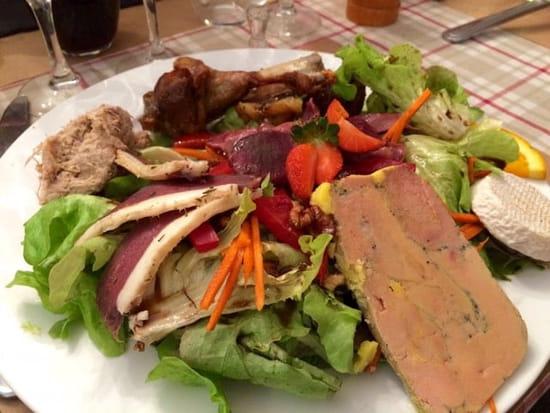 Plat : La Petite Borie  - Assiette Périgourdine -