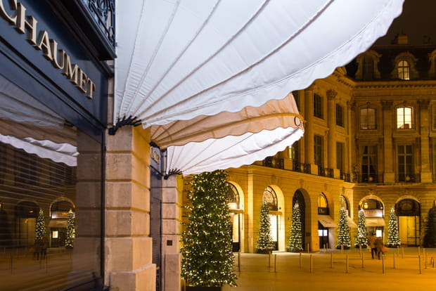 Les magasins de luxe place Vendôme