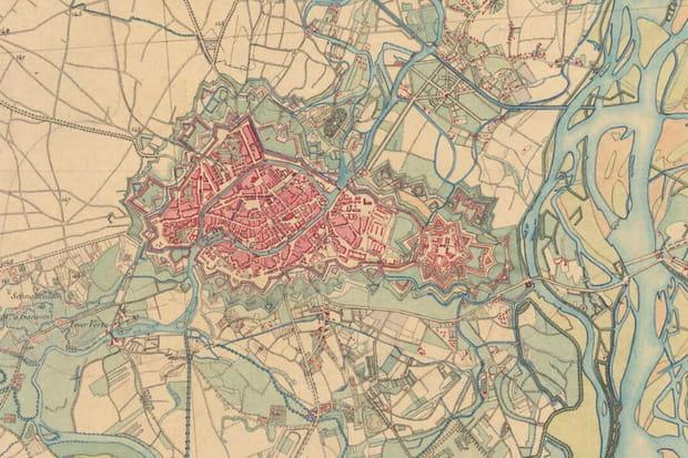 Strasbourg vers 1860