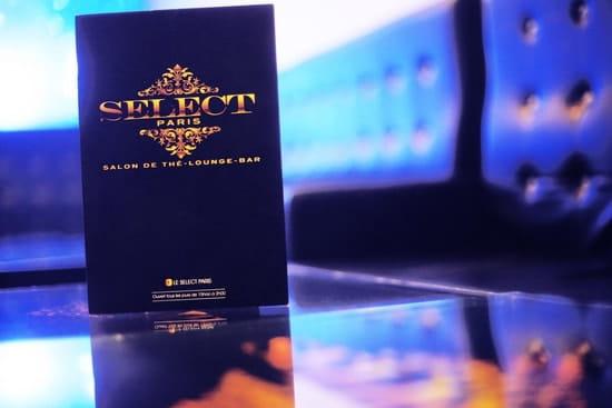 Le Select Paris  - Carte -   © Le Select Paris