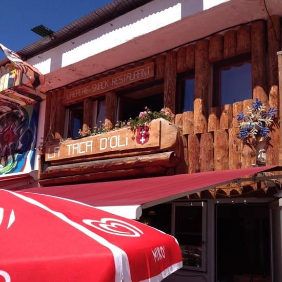 Restaurant : Taca d'Oli