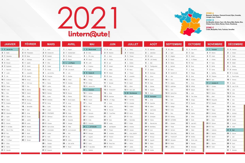 Calendrier 2021 : imprimez ou téléchargez votre calendrier gratuit