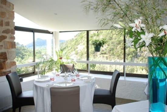 Les 3 Barbus  - Salle Restaurant vue Panoramique -   © Les 3 Barbus