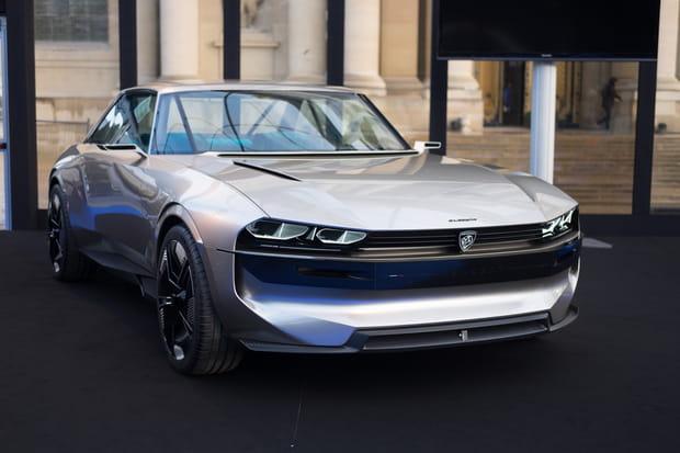 Le Peugeot e-Legend Concept est de retour