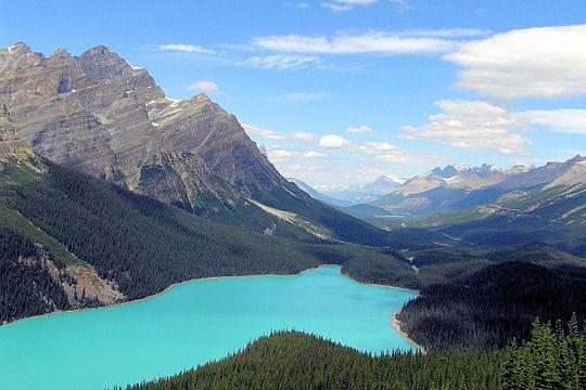 L'Ouest du Canada, étenduesnaturellesetsauvages