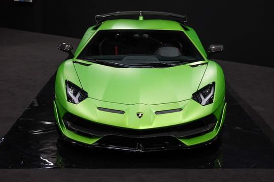 Lamborghini Aventador: nos photos du modèle SVJ au Mondial de l'Auto