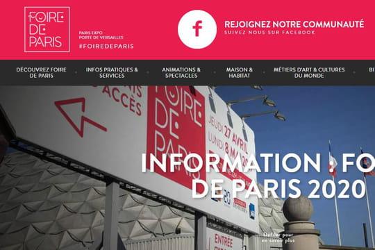 Foire de Paris2020: reportée en 2021en raison de la pandémie de Covid-19