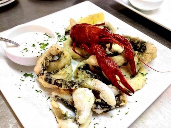 Plat : Le héron gourmand  - Frites de carpes sauce tartare -