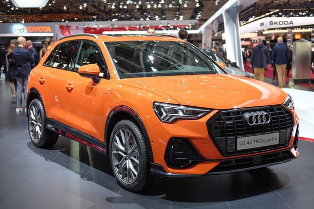 Le nouvel Audi Q3au Mondial de l'Auto