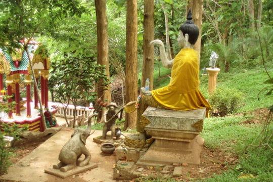 Le temple Wat Tha Torn